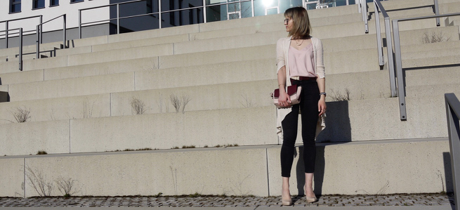 outfit, look, style, fashion, fashionblogger, fashionblog, modeblogger, mode, outfit idea, style idea, black denim, nude heels, nude cardigan, camisole top