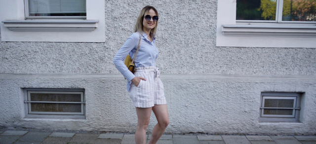 outfit, look, style, fashionblogger, fashionblog, modeblogger, modeblog, shorts, shirt, summer style, how to wear yellow